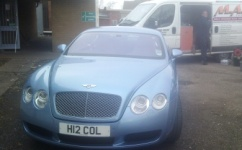 Bentley Lease Car Repaired
